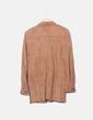 Textured camel shirt Erreuno