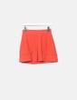 Mini falda roja pinzas Pull&Bear
