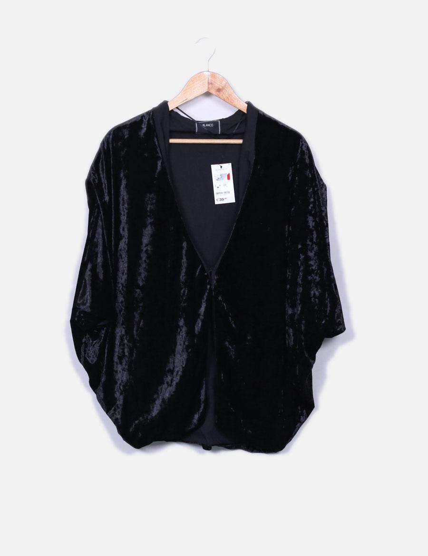 89b93fbca3fbb de y baratos Mujer online Chaquetas terciopelo Blazer de negra Abrigos  Suiteblanco PXwqPHxd ...