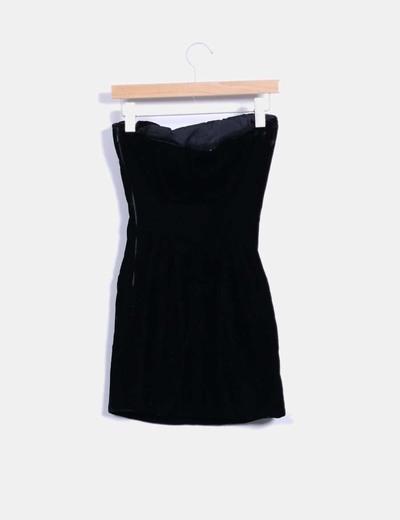 Givenchy vestido terciopelo negro palabra de honor for Ariadne artiles medidas