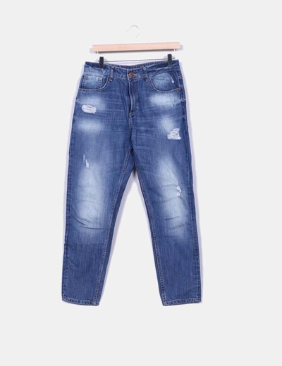 Jeans denim mom Tiffosi