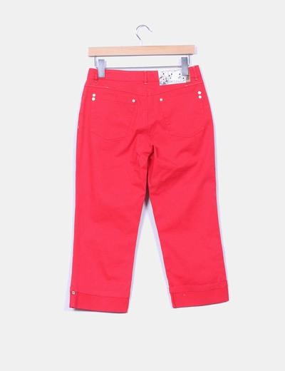 Pantalon pirata rojo