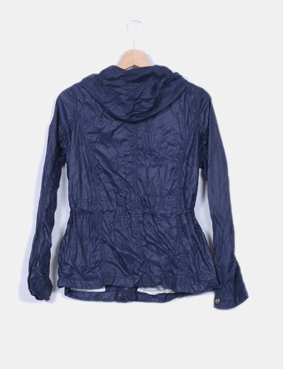 Chaqueta navy impermeable