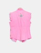 Blusa rosa con bordados multicolores Flamenco