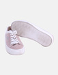 Zapatilla rosa de cordones detalle estrellas Pull&Bear