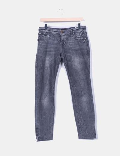 Pantalón denim gris Miss Sixty