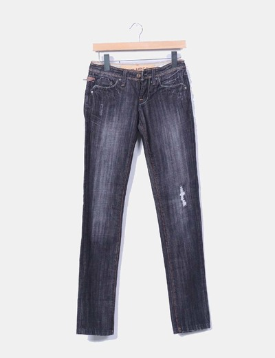 Pantalón denim negro Amisu