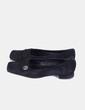 Zapato negro punta cuadrada Dansi