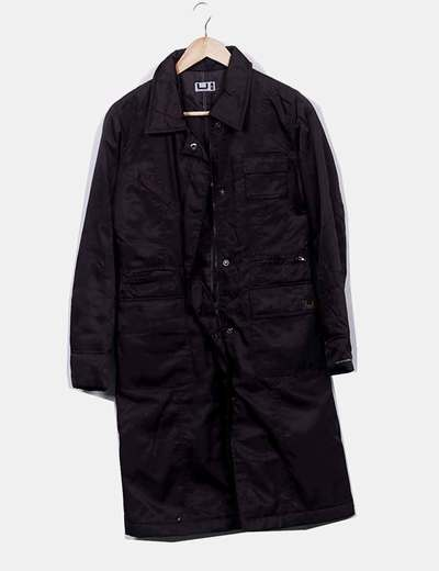 Abrigo impermeable marrón
