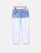 Jeans denim bicolor Pull&Bear