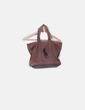 Bolso marrón print logo Ralph Lauren
