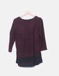 Camiseta tricot de rayas combinada Primark
