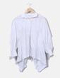 Camisa oversize con abertura en la espalda Uterqüe