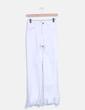 Jeans denim blanco desflecado Zara