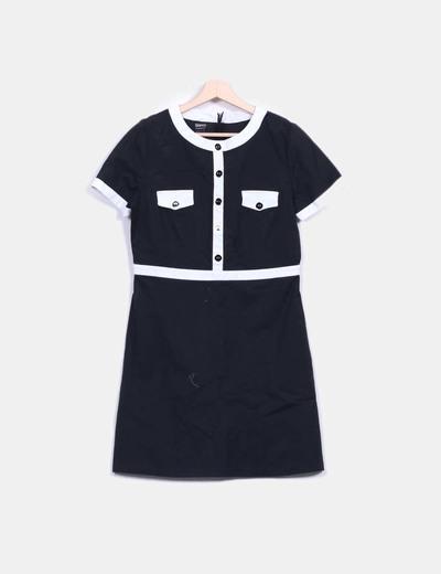 Suiteblanco robe blanche et noire vintage r duction 77 - Robe blanche vintage ...