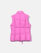 Chaleco acolchado rosa Benetton