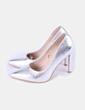 Zapato plateado Marypaz