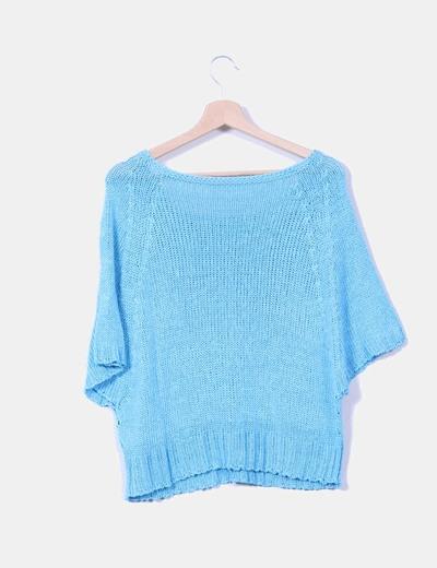 Jersey oversize azul