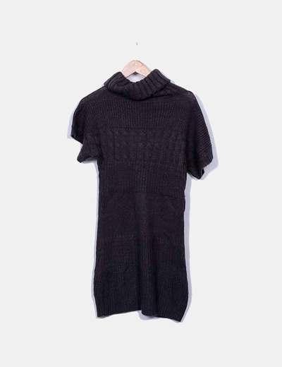 Vestido e punto gris New Collection
