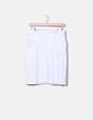 Falda midi blanca Lefties