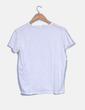 Camiseta blanca de manga corta Stradivarius