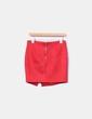 Mini falda roja antelina con tachas Drôle de copine