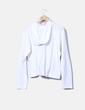 Sudadera blanca con capucha Decathlon