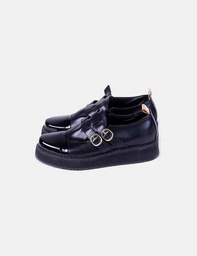 Zapatos blucher combinados LEQARANT