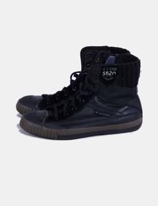 945519570c2 Zapatilla negra combinada G-Star Raw