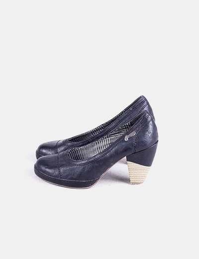 Zapato negro de tacon Gioseppo