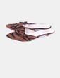 Zapato destalonado de pelo animal print Tintori