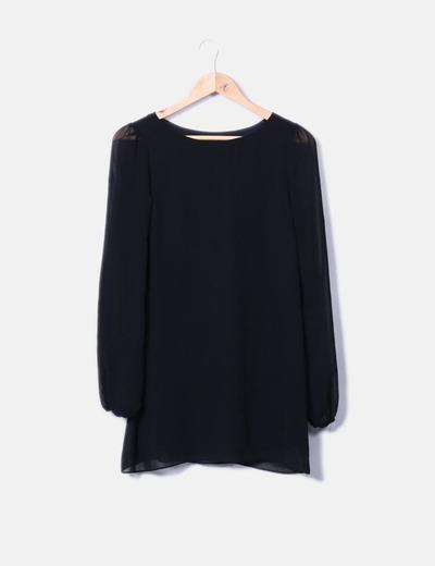 Doublure de gaze habillée noir Primark