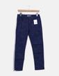 Pantalón recto azul marino estampado NoName