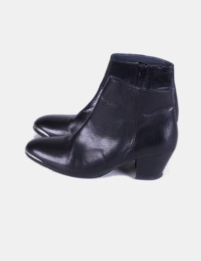 Bottines noires Jonak