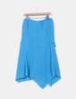 Falda azul celeste asimétrica  NoName