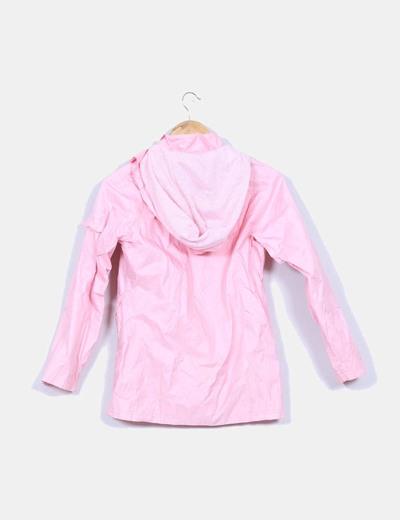 Chubasquero rosa palo