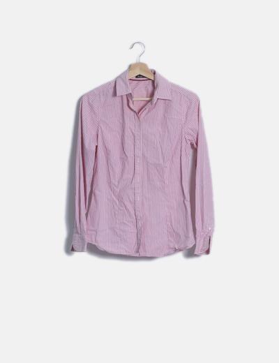 Camisa rayas rosa