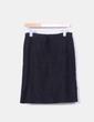 Falda midi negra Benetton
