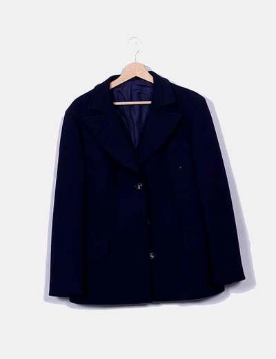 NoName Marineblauer Button-Down-Blazer (Rabatt 80 %) - Micolet 0f898e35c2