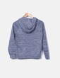 Sudadera tricot gris jaspeada Nike