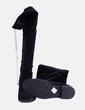 Bota alta velvet negra BLISS Couture
