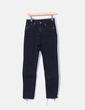 Pantalon noir skinny effilochés H&M