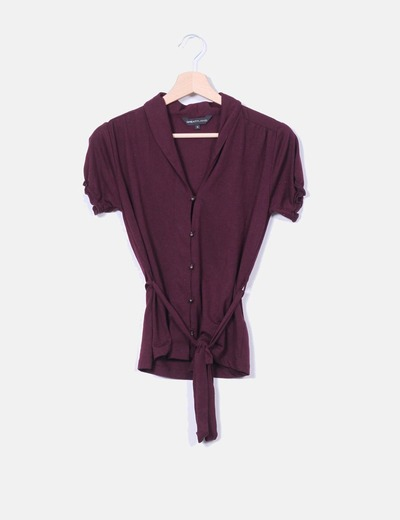 Top camisero color vino  Great Plains