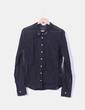 Camisa negra semi-transparente Le Jean de Marithé