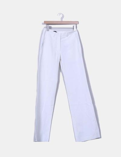 Pantalón blanco acampanado  NoName