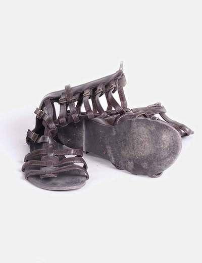 Sandalia romana marron