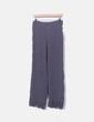 Pantalón fluido gris estrellas y crochet H&M