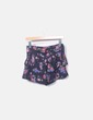 Short negro floral Pull&Bear