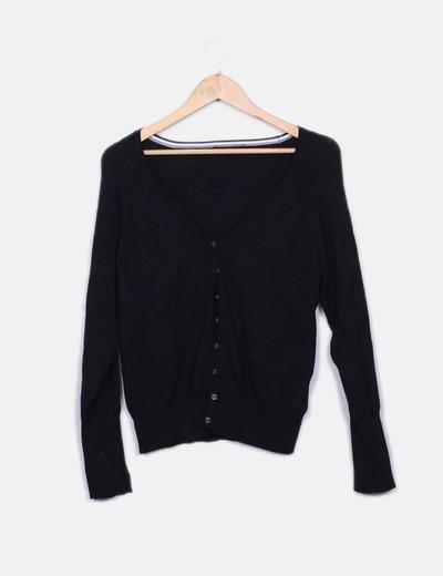 45ac0c59f90e Primark Schwarzer tricot-Cardigan (Rabatt 78 %) - Micolet