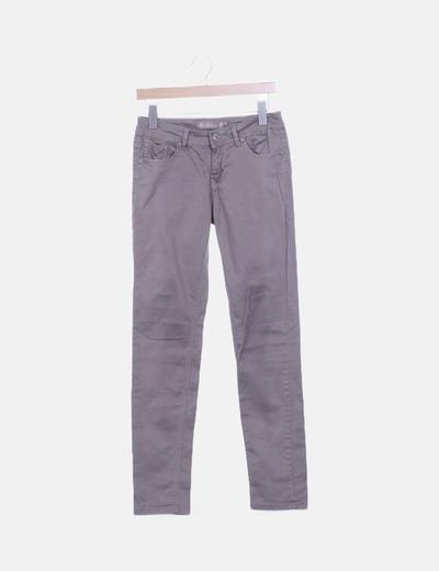 Jeans taupé pitillo
